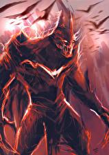 Pictures Heroes comics Batman hero Monster