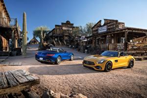 Images Mercedes-Benz 2 Cabriolet Metallic 2016-17 AMG GT Roadster automobile