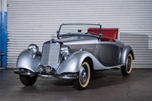 Image Mercedes-Benz Retro Convertible Silver color 1931-33 15-75 HP Mannheim 370 S Sport-Cabriolet auto
