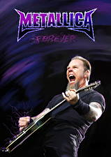 Image Metallica Men Guitar James Hetfield