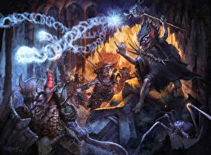 Images Warriors Sorcery Monster Fantasy