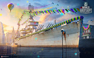 Wallpapers World Of Warship Ships Games Army