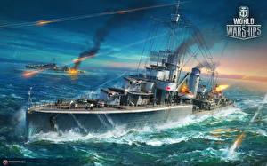 Wallpaper World Of Warship Ship German Destroyer Leberecht Maass Games Army