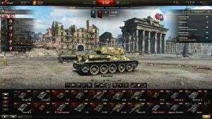 Bilder WOT Panzer T-34 Russische Spiele