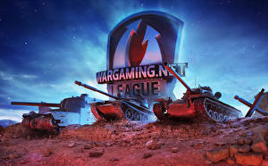Bilder Panzer World of Tanks Russische Amerikanisch Japanisch Wargaming.net League Spiele