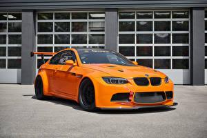 Wallpaper BMW Orange Metallic 2017 G-Power BMW M3 GT2 S Hurricane automobile