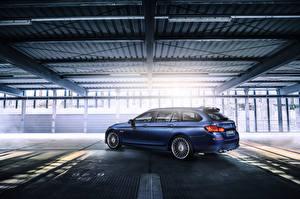 Image BMW Blue Estate car F11 5-Series Cars