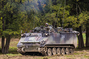 Photo Armoured personnel carrier American M113 Kdo Pz 63 military
