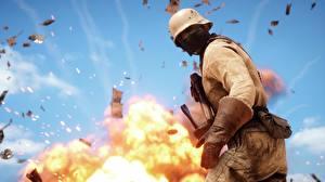 Hintergrundbilder Battlefield 1 Soldaten Maske Militär Schutzhelm Spiele 3D-Grafik
