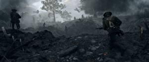 Wallpapers Battlefield 1 Soldier War vdeo game 3D_Graphics