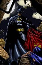 Pictures Superheroes Batman hero Fantasy