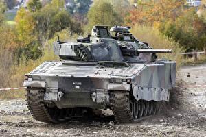 Photo IFV Combat Vehicle 90, Sweden