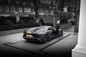 Fotos Lamborghini Grau Aventador Mansory