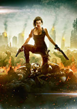 Photo Resident Evil: The Final Chapter Milla Jovovich Girls Celebrities