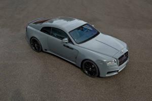 Hintergrundbilder Rolls-Royce Grau 2016 Spofec Wraith  Overdose automobil