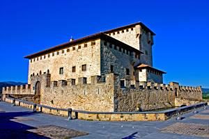 Pictures Spain Castle Torre Palacio De Los Varona Cities