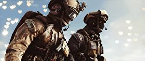 Picture Battlefield 4 Soldiers US 2 vdeo game 3D_Graphics
