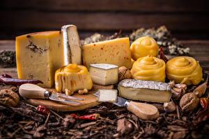 Bilder Käse Nussfrüchte