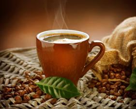 Hintergrundbilder Getränke Kaffee Tasse Getreide Blatt Dampf Lebensmittel
