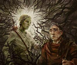Hintergrundbilder Illustrationen für Bücher Zwei Ast Malazan Book of the Fallen, Azath, Tremorlor Fantasy
