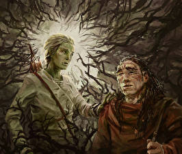 Pictures Illustrations to books Two Branches Malazan Book of the Fallen, Azath, Tremorlor Fantasy