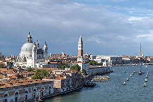 Fotos Italien Haus Seebrücke Venedig Bucht Städte