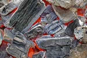 Image Macro photography Bonfire Burning coals