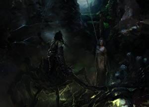 Hintergrundbilder Supernatural Wesen Webspinnen Fantasy