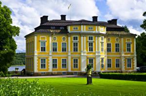 Bilder Schweden Burg Rasen Venngarn Castle