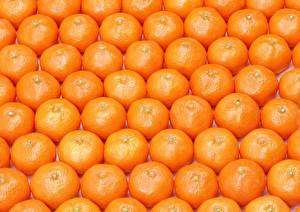 Fotos Textur Zitrusfrüchte Mandarine Viel Lebensmittel