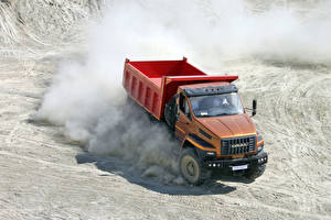 Pictures Lorry At speed 2015-17 URAL-5557-6121-72 Cars