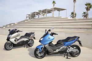 Fonds d'écran BMW - Motocyclette Scooter 2 C Series