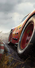 Photo Cars 3 Closeup Red Wheel Lightning McQueen