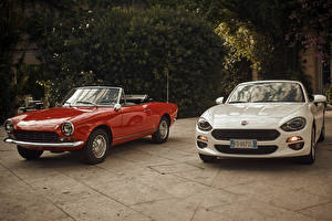 Pictures Fiat Two Metallic Convertible Fiat 124 automobile