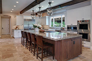 Photo Interior Design Kitchen Table Chairs Ceiling