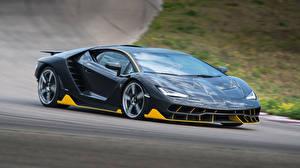 Bilder Lamborghini Grau Metallisch 2016 Centenario Coupe