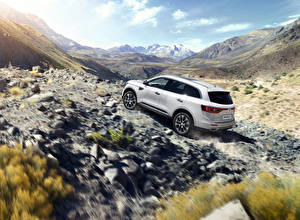 Wallpapers Renault White Crossover Koleos Cars