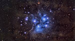 Fotos Stern M45, Pleiades Weltraum