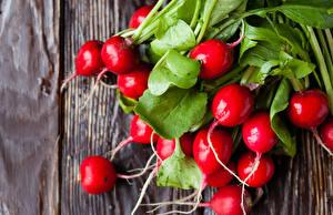 Desktop wallpapers Vegetables Radishes Red Food