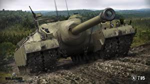 Images World of Tanks Self-propelled gun US Mud T95 Games