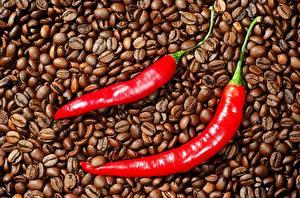 Hintergrundbilder Kaffee Chili Pfeffer Getreide Lebensmittel