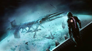 Images Dead Space Ship isaac clarke vdeo game Fantasy Space