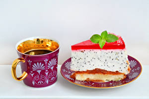 Image Drinks Cake Cup Plate Food