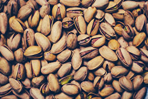 Bilder Schalenobst Textur Pistachios Lebensmittel