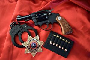 Wallpapers Pistols Cartridge (firearms) Revolver Handcuffs Detective Special 3 colt 1970 Army