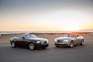 Photo Rolls-Royce Two Convertible Metallic Luxury 2016 Dawn automobile