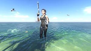 Photo Tomb Raider Underworld Water Lara Croft Beautiful vdeo game Girls