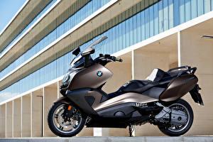 Fonds d'écran BMW - Motocyclette Scooter Latéralement 2012-16 C 650 GT
