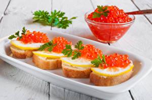 Hintergrundbilder Butterbrot Meeresfrüchte Caviar Zitrone das Essen