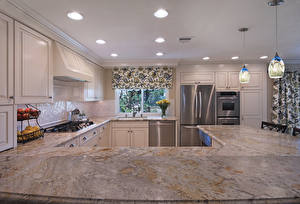 Pictures Interior Design Kitchen Ceiling Lamp Table